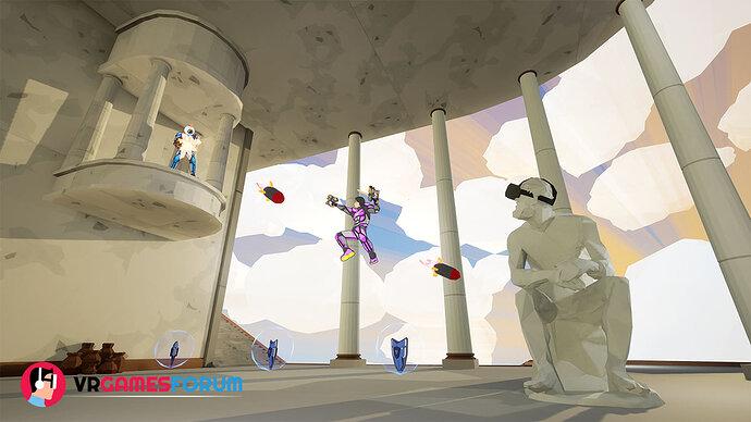 Grappling Tournament VR game for Oculus Rift