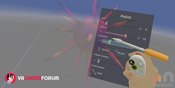 Adobe Medium VR 3D asset creation tool